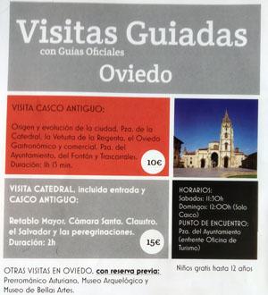 Visitas Guiadas Oviedo, Gijón y Avilés